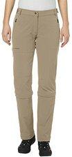 Vaude Women's Farley Stretch 3/4 T-Zip Pants