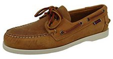 Sebago Docksides brown/white O/Sole