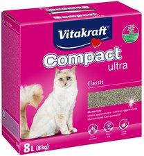 Vitakraft Katzenstreu Compact Ultra (8 kg)