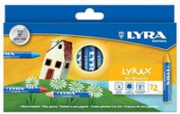 Lyra Lyrax Wachs-Riesen 12 Stück
