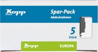 Kopp Abdeckrahmen 2fach 5erPack weiß (401913017)