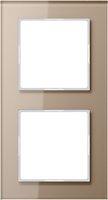 Jung Glasrahmen 2fach (AC 582 GL CH)