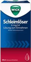 WICK Schleimlöser 6 mg/ml Lösung (100 ml)