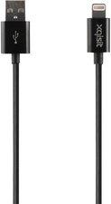 XQISIT Lightning-USB Datenkabel schwarz