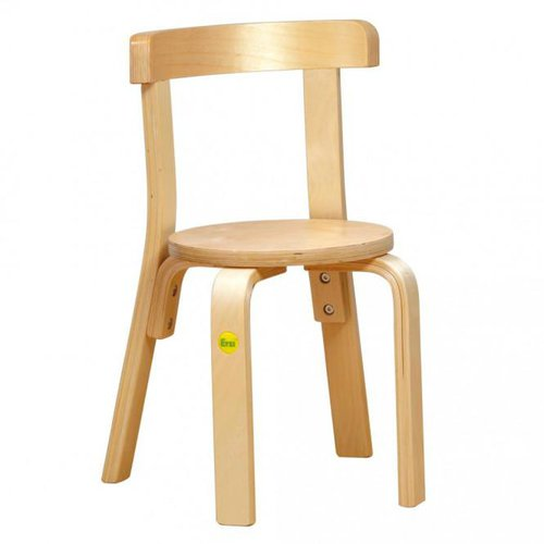 Erzi Formholz-Stuhl