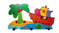 Hess Spielzeug Garderobe Piratenschiff