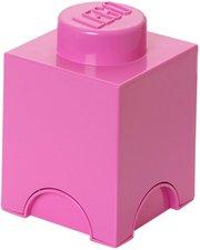 LEGO Aufbewahrungs-Box 1 x 1 (rosa)
