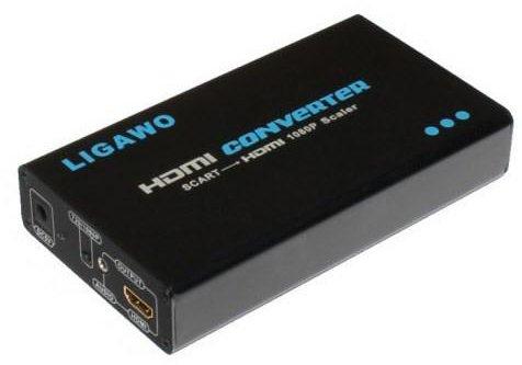 Ligawo 6526090 Scart HDMI Konverter FullHD