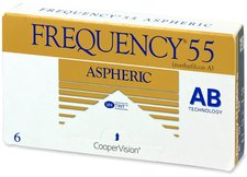 CooperVision Frequency 55 Aspheric -1,75 (6 Stk.)