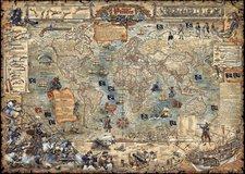 Heye Pirate World (3000 Teile)