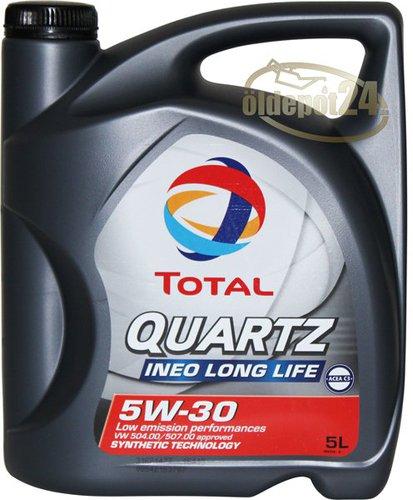 TOTAL Automotive Quartz Ineo LongLife 5W-30 (5 l)