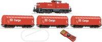 Roco Digital-Startset Diesellokomotive 294 mit Güterzug DB (51222)