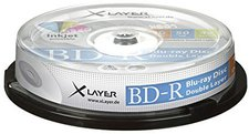 Xlayer BD-R DL 50 GB 4x 10er Cakebox