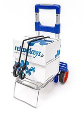 Relaxdays Transport-Trolley klappbar für 35kg
