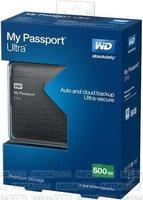 Western Digital My Passport Ultra 500GB titanium