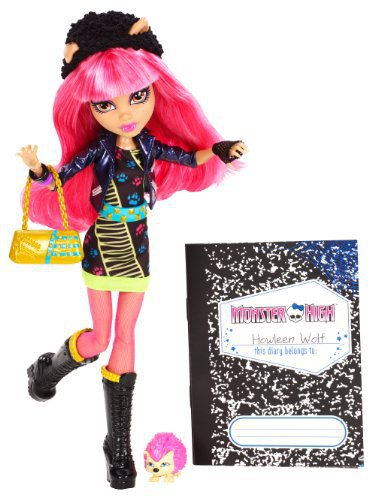 Mattel Monster High - 13 Wishes - Howleen Wolf