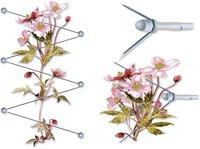 Peddy Shield Rankhilfe Edelstahl mit Seilspanntechnik