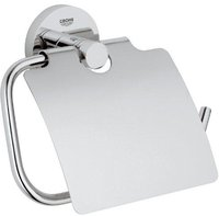 Grohe Essentials Basic Toilettenpapierhalter mit Deckel (40443)