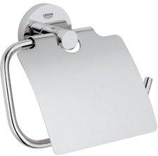 Grohe Essentials Basic Toilettenpapierhalter mit Deckel (40443)
