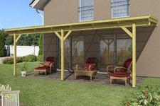 Skanholz Terrassenüberdachung 648 x 300 cm, Douglasie ohne Mittelpfosten