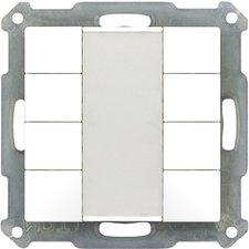 MDT Taster 8-fach, reinweiß BE-TA5508.01