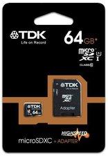 TDK microSDXC 64GB Class 10 (T79193)
