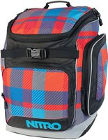 Nitro Bandit plaid red-blue