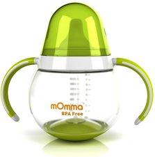 mOmma Steh-auf-Trinkbecher mit Doppelgriff (250 ml)