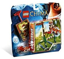 LEGO Legends of Chima - Sumpfhochsprung (70111)