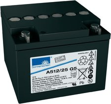 Exide A512/25 G5 Bleiakkus-Gel Dryfit 12V 25 Ah