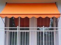 Angerer Klemm-Markise 400 x 150 cm uni-orange