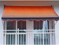 Angerer Klemm-Markise (200 x 150 cm) orange-braun