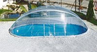 Summer Fun Cabrio Dome Pool-Abdeckung 737 x 360 cm