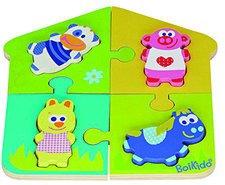 Boikido Doppel-Puzzle Bauernhof