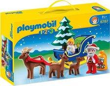 Playmobil 123 - Weihnachtsmann mit Rentierschlitten (6787)