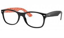 Ray Ban New Wayfarer RX5184 2479 (black/red texture)