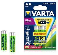 Varta Toy Ready-To-Use AA Mignon-Akkus 1.2V 2400 mAh (2 St.)