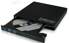 CnMemory Portable DVD-Recorder schwarz