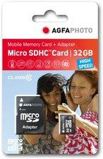 AgfaPhoto microSDHC 32GB Class 10 (10581)
