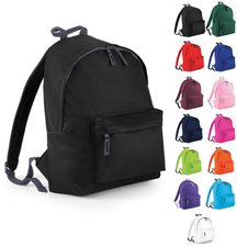 Bagbase Junior Fashion Backpack surf blue/graphite grey