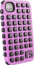 G-Form Extreme Grid Pink/Schwarz (iPhone 4/4S)