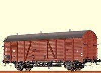 BRAWA Gedeckter Güterwagen Glr 12 DR (48693)