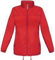 B&C Collection Sirocco Jacket Women Red