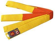 Ju Sports Budogürtel gelb/orange Two Tone