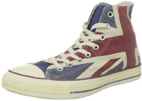 Converse Chuck Taylor All Star Hi Kids Sweatshirt UK Flag/Union Jack