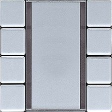 Jung Tastsensor 4-fach, aluminium AL2248