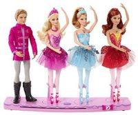 Mattel Barbie Tanzende Weihnachtsballerinen