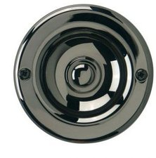 REV Klingel-Kontakt rund, messing, brüniert (0504480555)