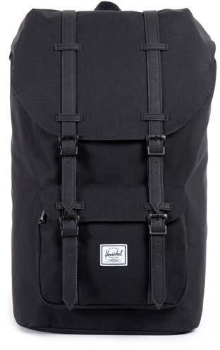 Herschel Little America Backpack black rubber