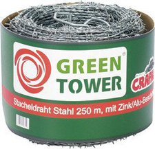 Green Tower Stacheldraht 1,7 mm x 500 m